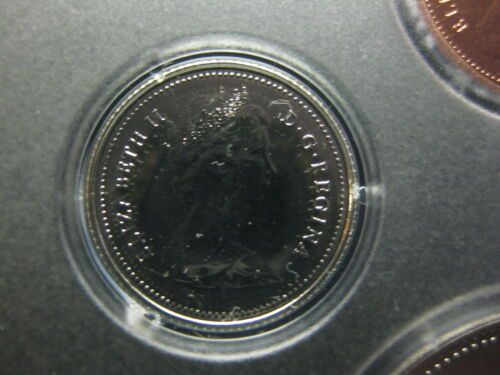 1980 Canadian Prooflike Dime $0.10