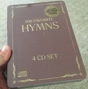 100-Favorite-Hymns-by-Various-Artists-4-CD-039-s-Under-God-039-s-Rainbow-Brand-NEW