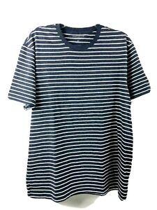 J-Crew-Mercantile-Mens-Broken-In-Knit-Goods-Deck-T-Shirt-Blue-White-Stripe-XL