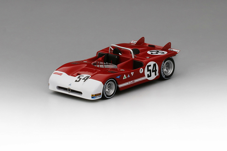 TSM164304 TSM-Model:1/43 Alfa Romeo Tipo 33/3  54 1971 Brands Hatch 1000KM Winn.