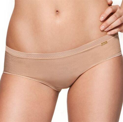 Gossard Glossies Sheer SHORT in Nude Freepost UK!