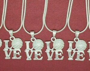 8-x-Love-Netball-Necklaces-one-all-the-team-end-season-gift-7-9-10-12-14-16-20