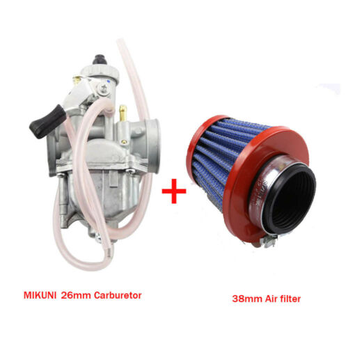 VM22 26MM MIKUNI Carburetor with Air Filter CRF50 XR50 XR 50 SDG SSR 110 125