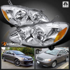 Image Is Loading For 2003 2008 Toyota Corolla Clear Replacement Head