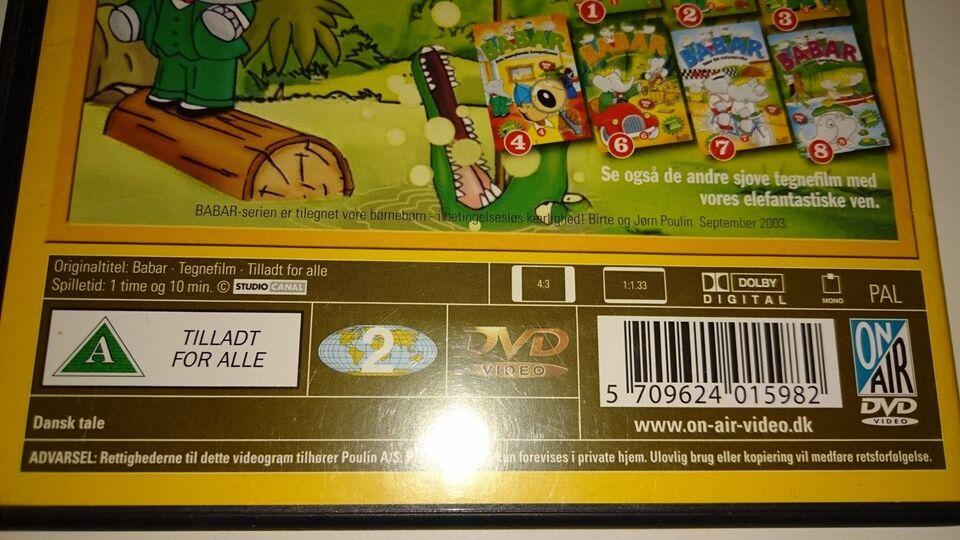BABAR - Gaven, DVD, tegnefilm