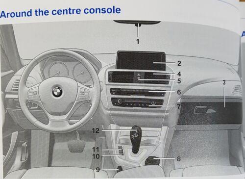 GENUINE BMW 1 SERIES F20 F21 2011-2015 HANDBOOK OWNERS MANUAL PACK L-944