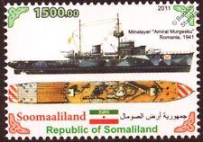 Romania/Romanian Navu 1941 AMIRAL MURGESCU Minelayer WWII Warship Stamp
