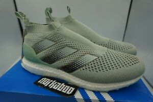 official photos 9dc3a 8b9c6 Details about Adidas Ace16+ PureControl Ultra Boost Vapour Green BY1599  mint white teal