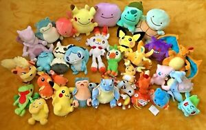 Pokemon Plush Teddy Collection - Choice of 80 Characters - UK SELLER - BRAND NEW