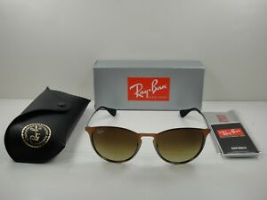 a6570b943115a RAY-BAN ERIKA METAL SUNGLASSES RB3539 193 13 BROWN BROWN GRADIENT ...