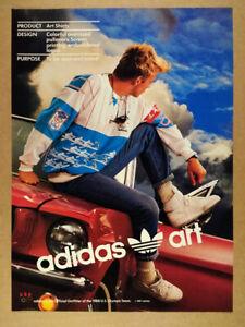 1987 Adidas Art Shirts Vintage Print Ad Ebay