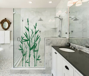 Das Bild Wird Geladen Wandtattoo Asien Bambus Badezimmer  Duschkabine Wandaufkleber WallArt Deko