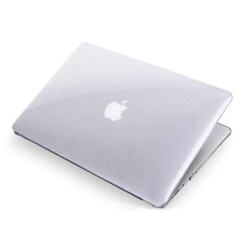 "Plain Clear Crystal Snap On Hard Case Shell Cover fr MacBook 2018 Air 13/"" A1932"