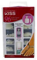 (3 Pack) Kiss 96 Full Cover Toenails