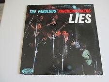 THE FABULOUS KNICKERBOCKERS-LIES-VINYL LP RECORD- ORIGINAL  STEREO VG++ TO NM -