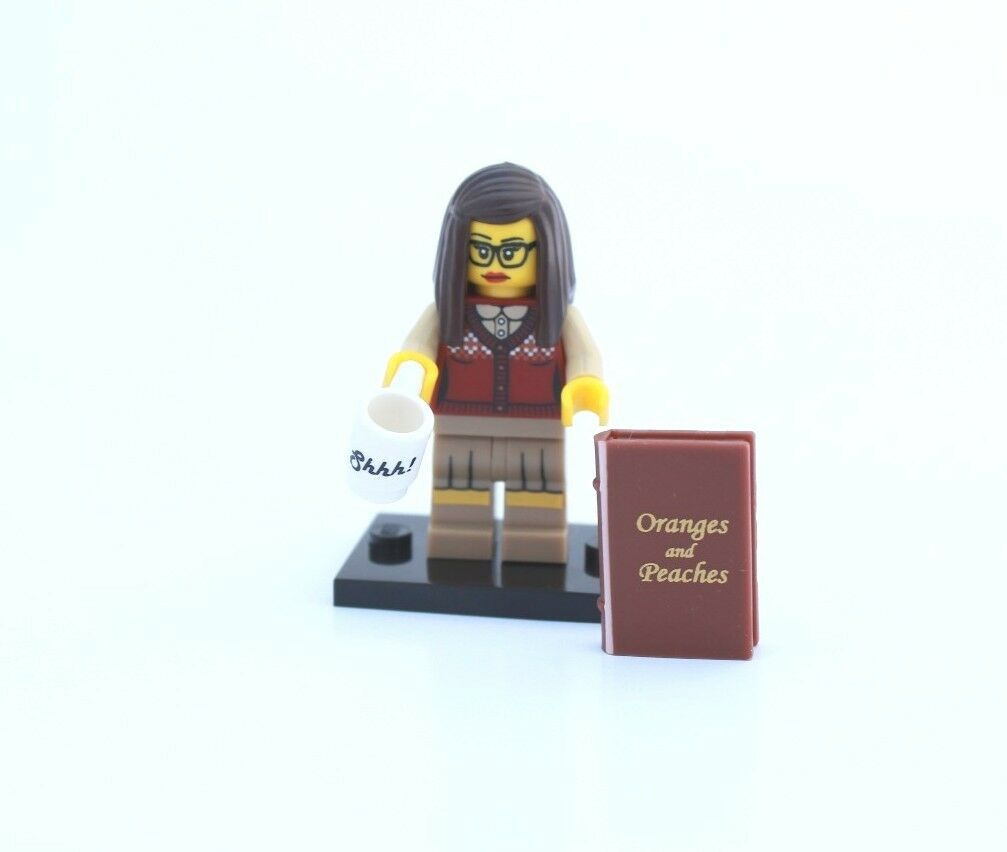 NEW LEGO MINIFIGURES SERIES 10 71001 - Librarian