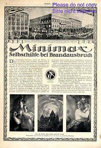Feuerloescher-Minimax-XXL-Reklame-1920-Werbung-amp-Kunstdruck-Willi-Nus-amp-Finetti