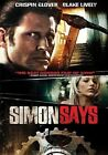 Simon Says 0012236103745 With Crispin Glover DVD Region 1