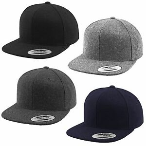 Flexfit-Melton-Lana-Berretto-da-Baseball-Cappuccio-Yupoong-Cap-Hat