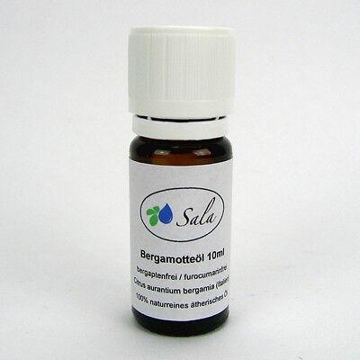 (46,90/100ml) Sala Bergamotteöl naturreines Bergamotte Öl furocumarinfrei 10 ml