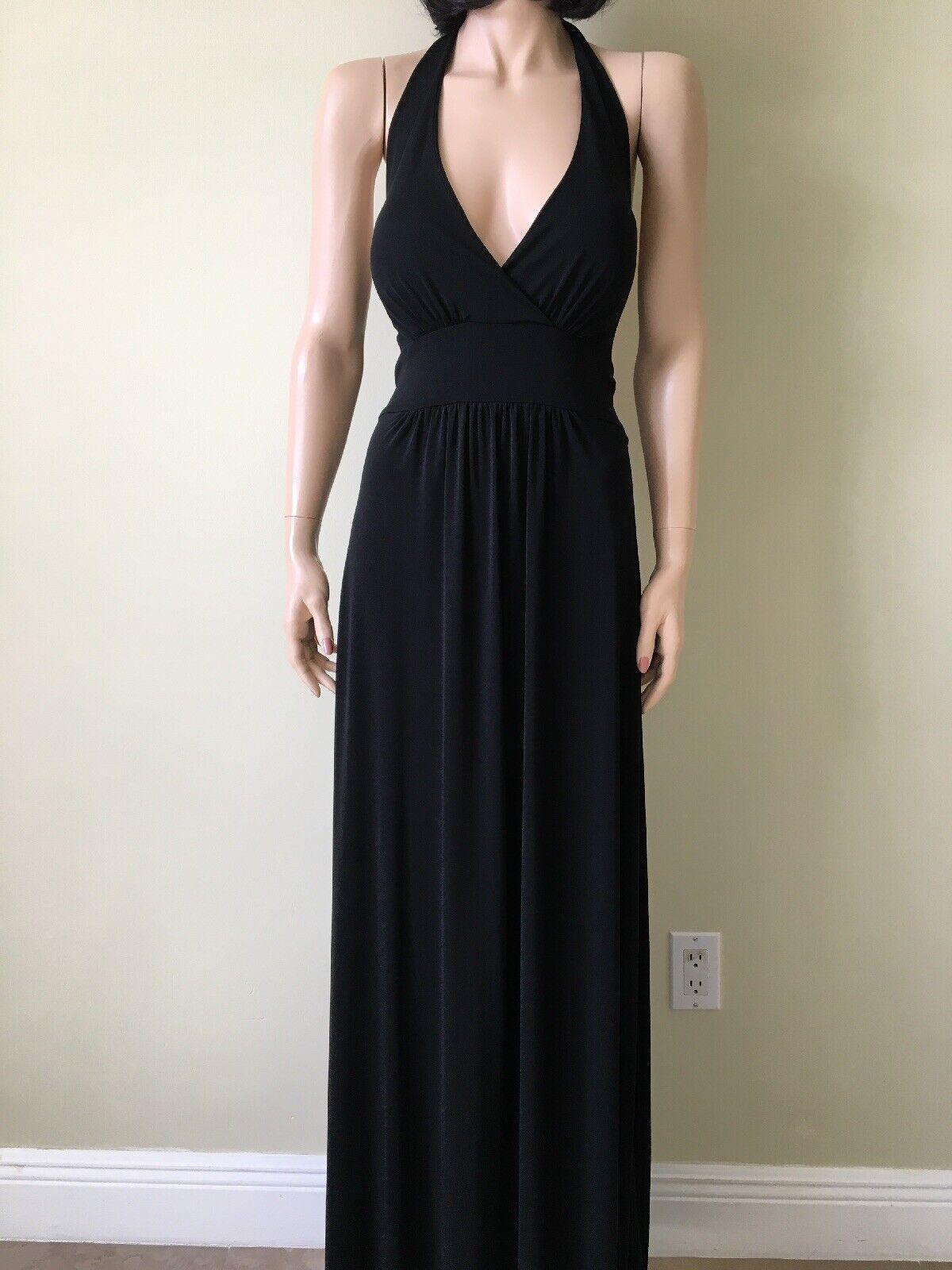 Karen Kane Evening schwarz Halter Dress Größe L New W out Tag