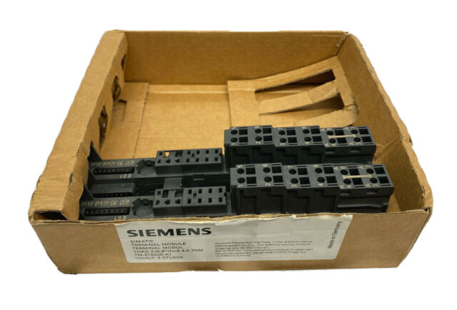 Siemens 6ES7193-4CA40-0AA0 Simatic Terminal Module (Set Of 2) NIB