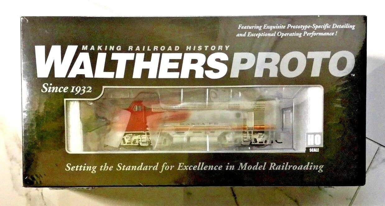 WALTHERS HO 1/87 PROTO SANTA FE EMD F7 A/B RD   45C DC / DCC READY 920-47698 F/S