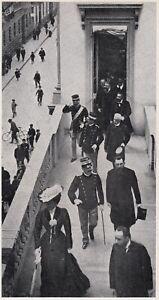 D7700 Milano - Reali in balconata via Montenapoleone - Stampa - 1937 old print - Italia - D7700 Milano - Reali in balconata via Montenapoleone - Stampa - 1937 old print - Italia