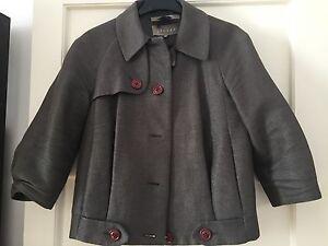 manga gris Jigsaw versᄄᄁtil fᄄᄁcil utilizado Uk8 y 3 chaqueta usar 4 de estilo tr7Tqq
