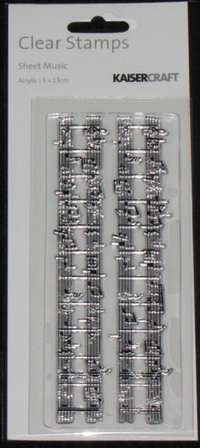 Kaisercraft TEXTURE Clear Stamps 'ALPHA, NO'S & SCRIPT' (Choose from 6) KAISER