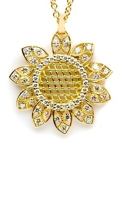 Tacori Sun pendant FP636 Yellow gold