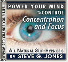 DR.STEVE G JONES Clinical Hypnotherapist CONCENTRATION & FOCUS SELF HYPNOSIS CD
