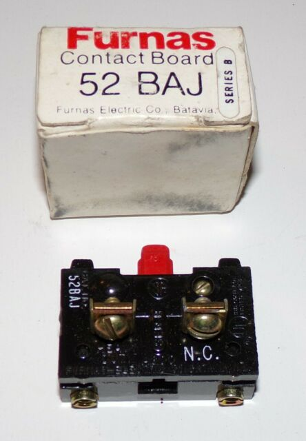 Furnas 52BAJ Series B Contact Board - Brand New