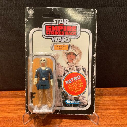figure-Comme neuf on Card-PRE-ORDER Hoth Star Wars Rétro Collection-Wave 2-Han
