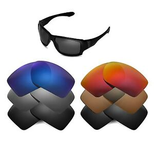 d0b89ebfce5 Image is loading Walleva-Replacement-Lenses-for-Oakley-Big-Taco-Sunglasses-