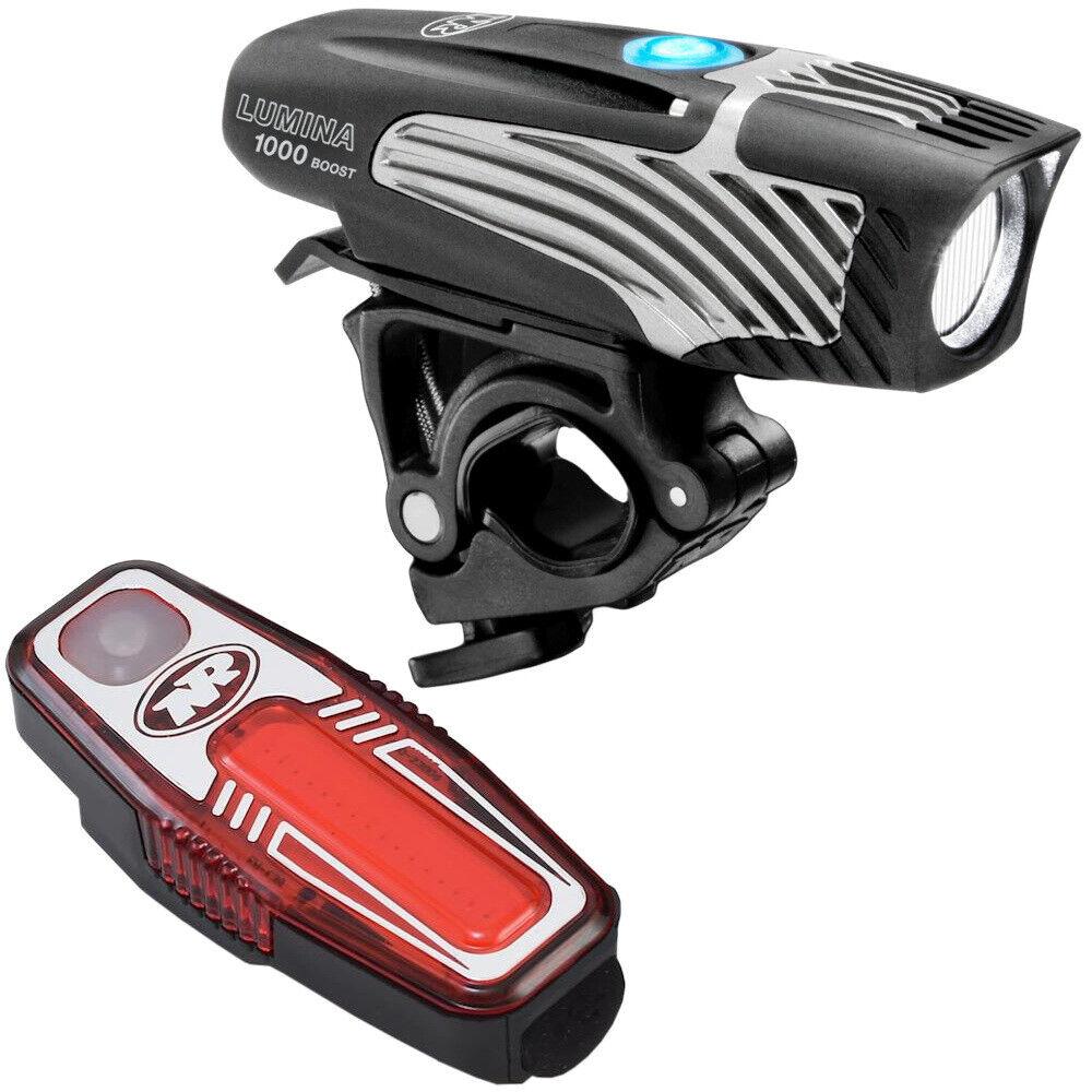 Nite Rider Lumina 1000 Boost + Sabre 80 USB Bike Light Set