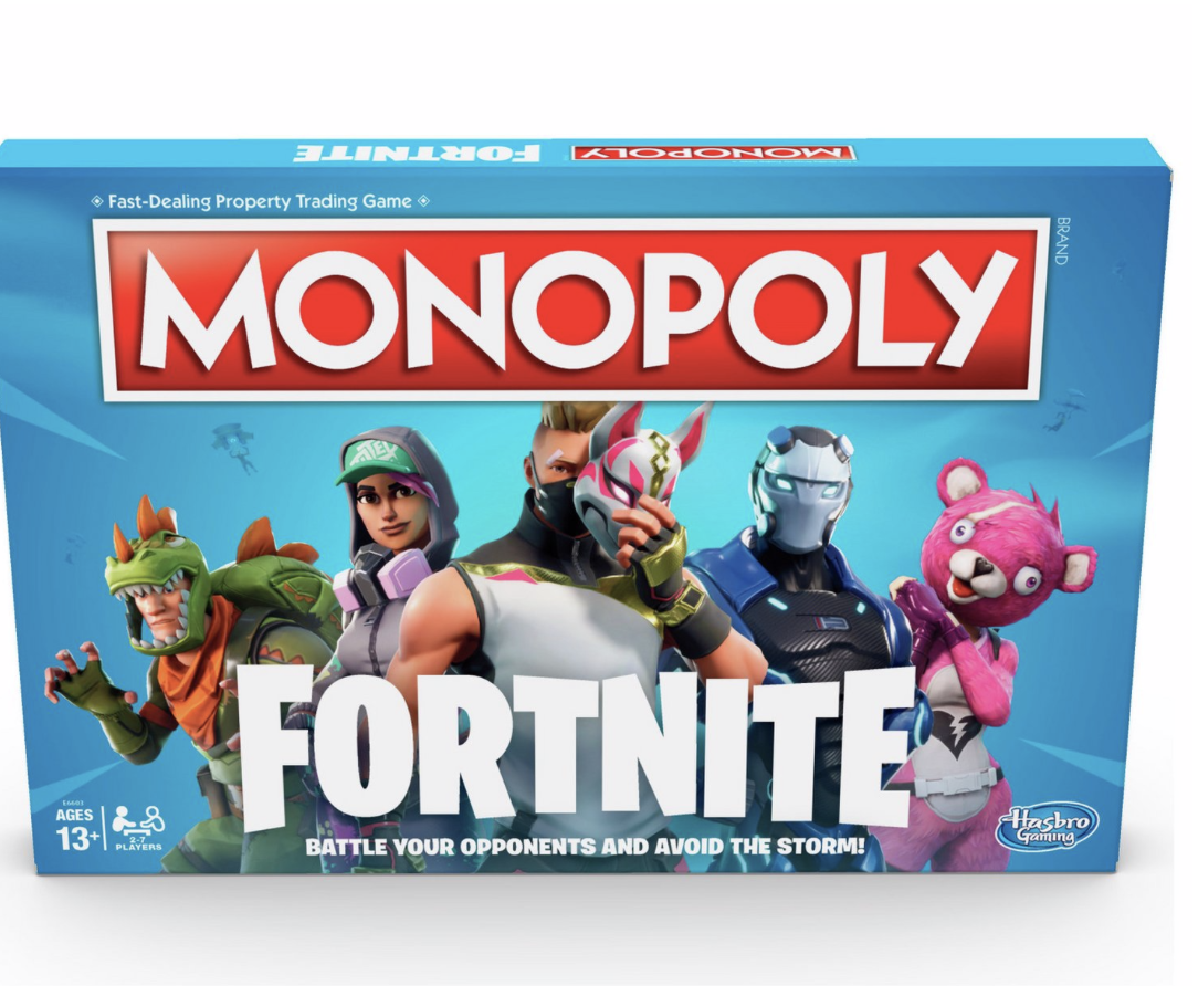 Monopoly Fortnite From Hasbro Gaming Toy Kids