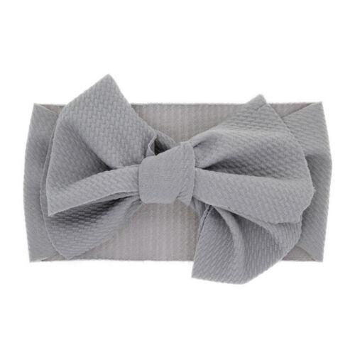 Newborn Toddler Kid Baby Girls Flowers Turban Headband Casual Accessories Gift