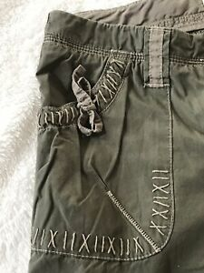 London-Jean-Womens-Size-8-Green-Chinos-G43