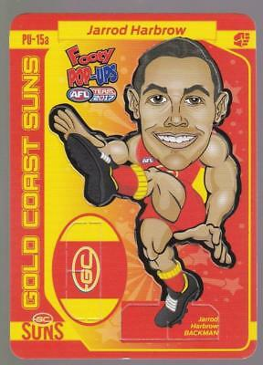 Industrious 2017 Teamcoach Footy Pop-ups Card Australian Rules (afl) Cards Jarrod Harbrow Pu-15a Sports Trading Cards