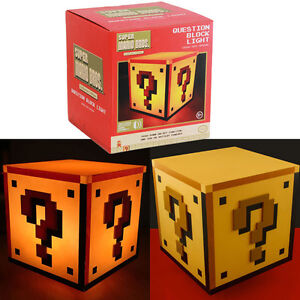 Super Mario Bros Lampe Bloc USB Mood Light PALADONE PRODUCTS