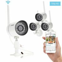 Funlux 720p Hd Wireless Indoor Outdoor Ipnetwork Ir Home Security Camera System