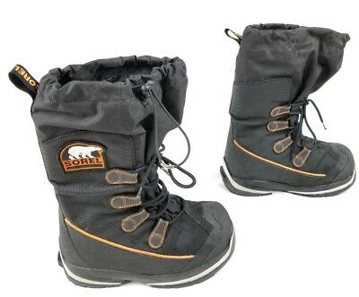 f32096083a8 SOREL Intrepid Explorer Extreme Waterproof Snow Insulated Boots Mens 7 US  Black | eBay