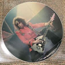 """T. Rex (T Rex Bolan) - Sing Me A Song - Scarce 1981 3trk Fan Club 12"""" pic disc"""
