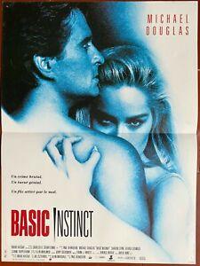 Plakat Basic Instinct Michael Douglas Paul Verhoeven 40x60cm