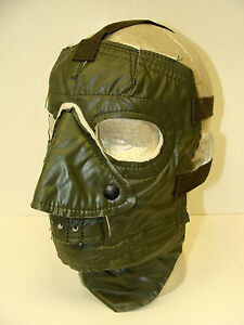 U-S-NAVY-OIL-CLOTH-COLD-WEATHER-FACE-MASK-MINT