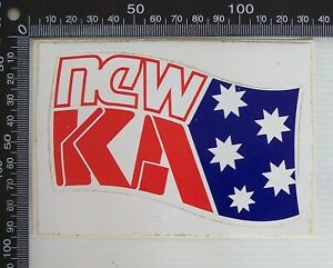 VINTAGE-NEW-5KA-AM-RADIO-ADELAIDE-SOUTH-AUSTRALIA-ADVERTISING-POS-PROMO-STICKER