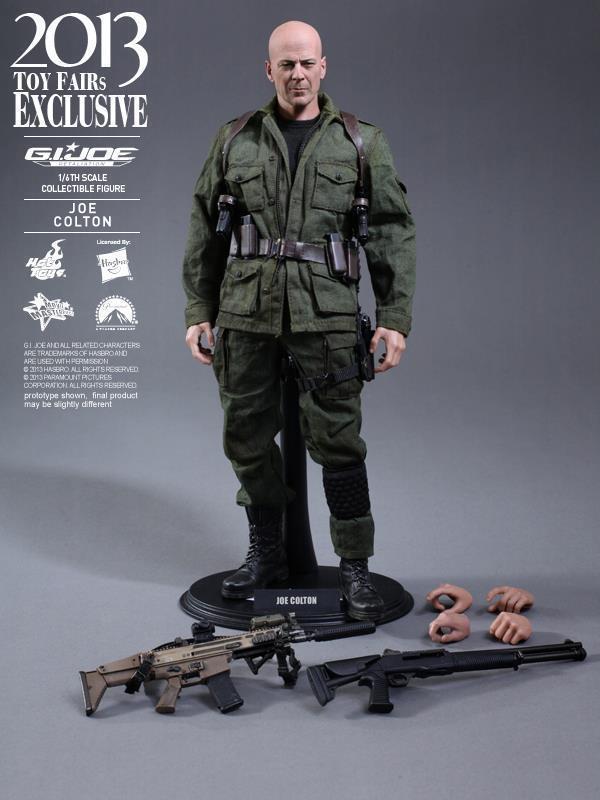 Hot Toys 1/6 G.I. Joe Retaliation Joe Colton MMS206