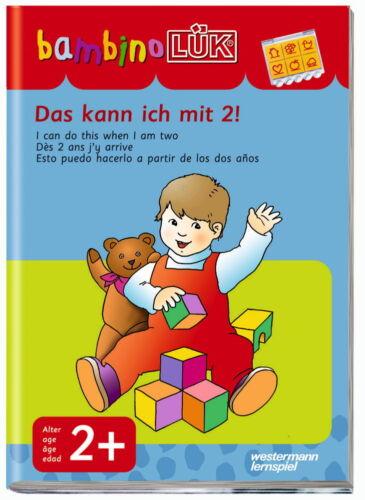 LÜK bambinoLÜK Buch Das kann ich mit 2 ab 2 Jahren 604