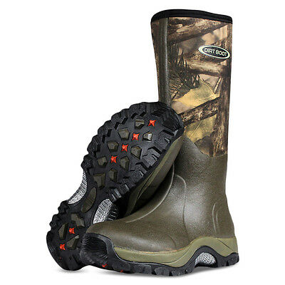 Dirt Boot ® In Neoprene Wellington Muck Boot Pro-sport ™ Verde / Mimetico-mostra Il Titolo Originale